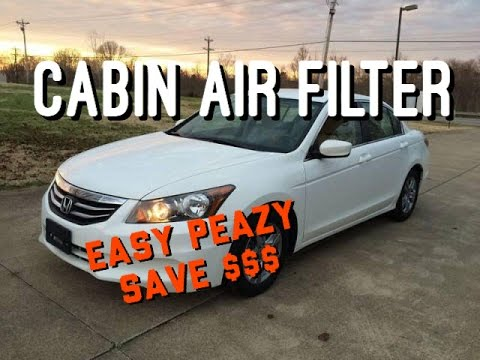 DIY 2012 Honda Accord Cabin Air Filter Replacement | Bundys Garage