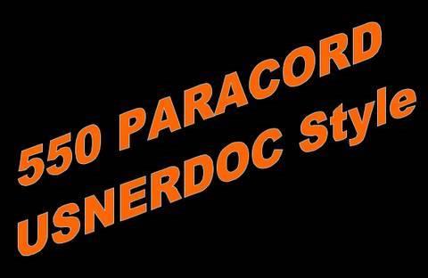 550 Paracord USNERDOC Style