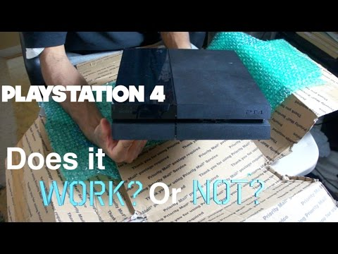 Does It Work? Or Not? - Unboxing A $86 PS4 From eBay.com