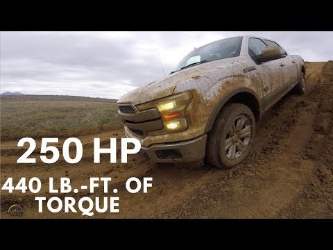 2018 Ford F-150 Power Stroke Diesel off-road Test Drive with Ford Trucks Engineer, Bobby Keith
