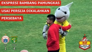 Ekpresi Bambang Pamungkas Setelah Persija Dikalahkan Persebaya 1-4 Final Piala Gubernur Jatim 2020