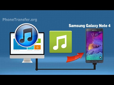 How to Sync iTunes Music to Samsung Note 4, Transfer Playlist from iTunes to Galaxy Note 4