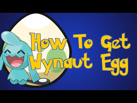 Pokemon Omega Ruby and Alpha Sapphire Tips : How To Get A Wynaut Egg