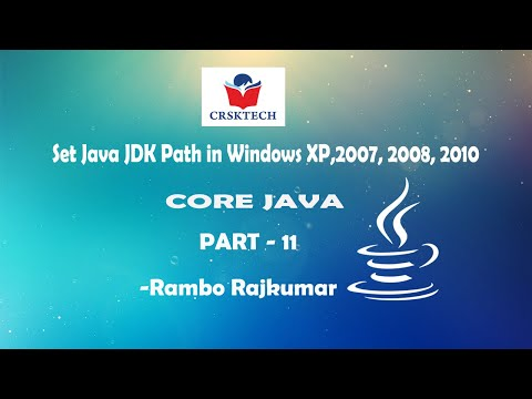 How to set Java JDK path in Win7/8/XP within 2 minutes