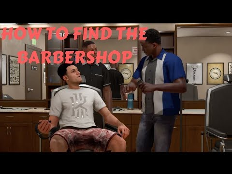 HOW TO FIND THE BARBERSHOP IN NBA 2K18! | NBA 2K18 MYCARRER GAMEPLAY