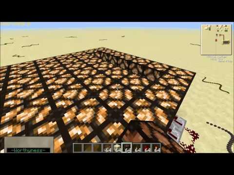 Redstone Tutorial - Episode 1 - Redstone-Lamp Floor