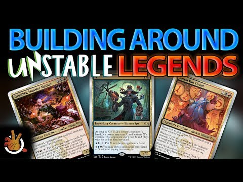 Building Around Unstable Legends | The Command Zone #189 | Magic: the Gathering EDH Podcast