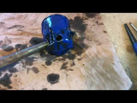 Stuck oil filter