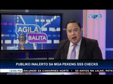 SSS warns public against fake checks