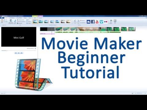 Movie Maker Beginner Tutorial!
