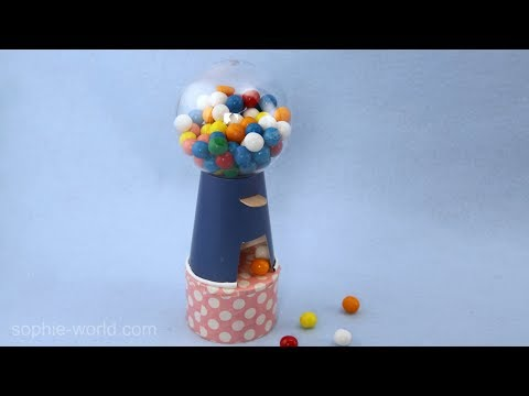 How to Make a Mini Gumball Machine | Sophie's World