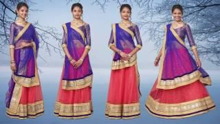 How to Wear Lehenga Dupatta, සියලු ඉන්දීය ආකාරයේ ඇඳගෙන ඉගෙන, সব ভারতীয় স্টাইলের পরতেন জানুন