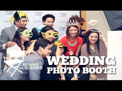 BEHIND THE SCENE : WEDDING PHOTO BOOTH
