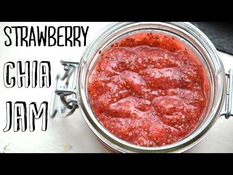 How to Make Easy Strawberry Chia Jam | No Cooking or Canning Required!