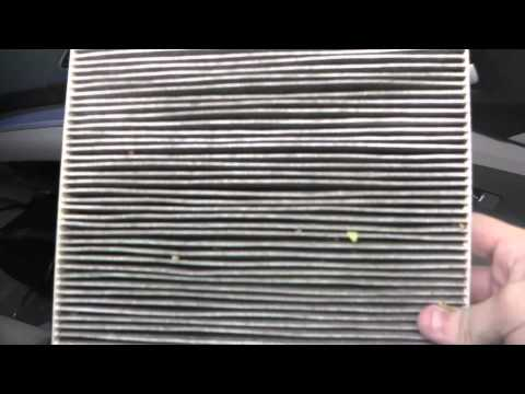 How To Replace Honda CR-V Cabin Air Filter (Demonstrated on a 2014 CR-V)