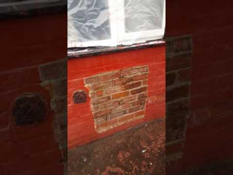 Paint removal from brickwork with zero damage.