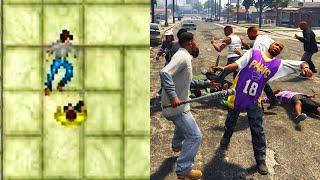 Evolution of Fighting in GTA Games 1997-2021