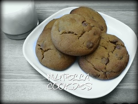 Easy nutella filled cookies recipe