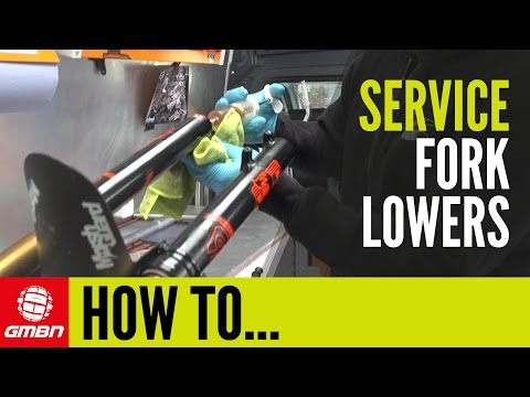 How To Service Your Fox Suspension Fork Lower Legs | Mountain Bike Maintenance