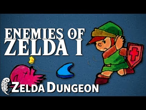 The Classic Enemies of the Original Zelda - Hyrule Compendium