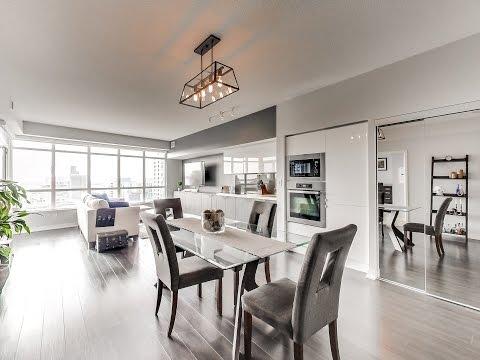 Toronto Real Estate • Downtown Condo 2 Bedroom / 2 Bath • 151 Dan Leckie Way #1001