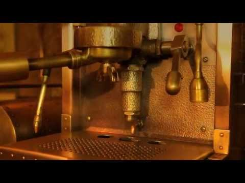 How to make coffee in the steampunk coffee machine