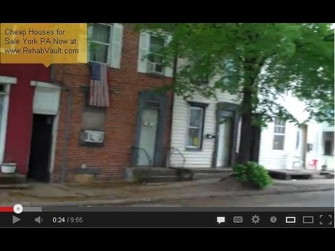 Cheap Houses for Sale York PA - TurnKey Investment! Start making cash flow right away.