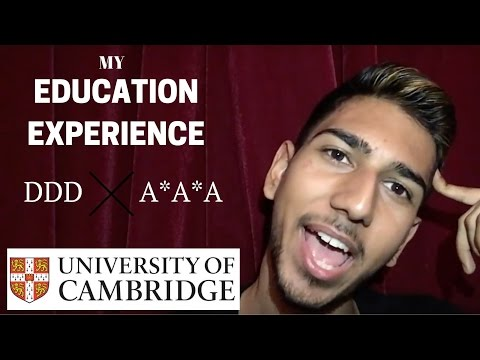 My Education Experience for Cambridge University | GCSE'S & A Levels