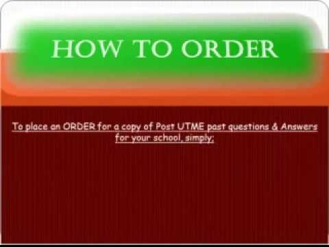 GET FREE HERE !!! ALL SUBJECTS - UNIJOS Post UTME past questions APTITUDE TEST - download here!