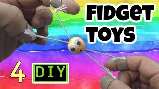 3 Easy Diy Fidget Toys Fun Diys Cool Diy Toys For Kids To Make