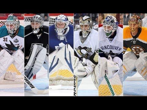 NHL 14- Drop in 1st Goalie Gameplay-Best Goalie Ever???