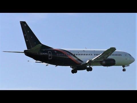 RARE!!! Titan Airways Boeing 737-436 G-POWS (easyJet Flight) Landing at Berlin Tegel Airport