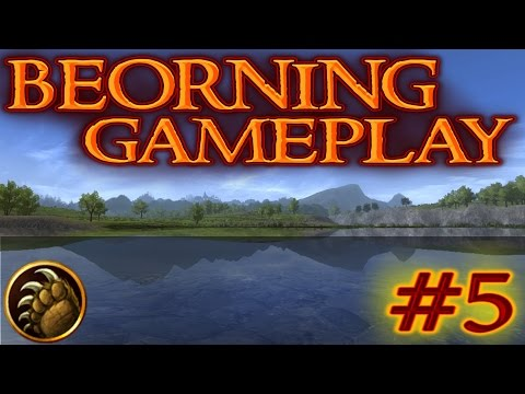 LOTRO: Beorning Gameplay #5 - Library Solo (Level 95)   Lord of the Rings Online 2017