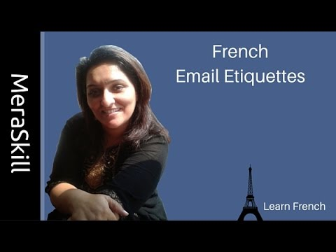 French  Email Etiquette | Learn French Online | Learn French Language | French Class