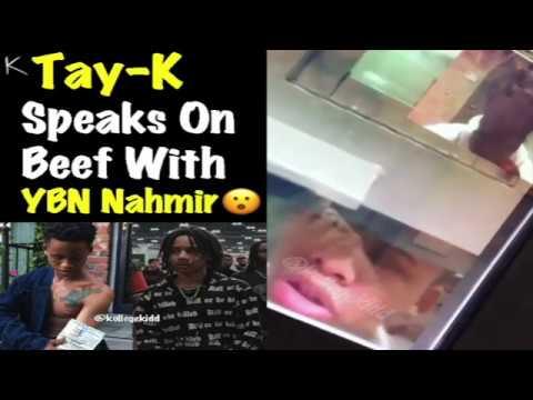 Tay-K Opens On YBN Nahmir From Jail