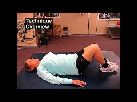 Fall Prevention Exercises (Flexibility Series) - Trunk Rolls