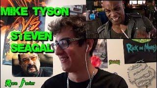 Steven Seagal vs. Mike Tyson FIGHT SCENE Reaction (Deadly Contract Movie) WHAT THE F IS GOING ON!!?