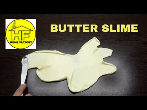 Butter slime - How to make butter slime - Make butter slime without clay