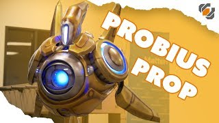 Probius Prop Build - Making a Life Sized Protoss Probe