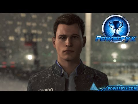 Detroit Become Human - MY TURN TO DECIDE Trophy Guide (Connor resists CyberLife Hack)