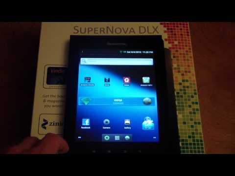 Pandigital Supernova Tablet Review