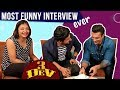 Karan Singh Grover Ravi Dubeys Most Funny Interview Ever 3 DEV Kunaal Roy Kapur