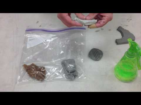 Clay Storage: Beginning of the Project