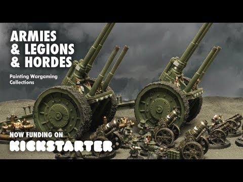 Armies, Legions & Hordes Kickstarter Shoutout!
