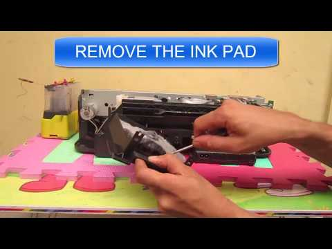 EPSON T13 : REPLACING INKPAD - CLEANING INK PAD [SOLVED]