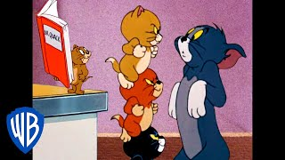 Tom & Jerry | Home But Not Alone! | Classic Cartoon Compilation | WB Kids