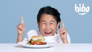 Kids Try Vegan Food | Kids Try | HiHo Kids