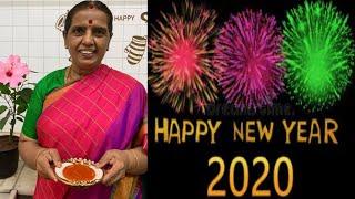 Happy New year 2020 - / Asoka Halwa by Revathy shanmugam