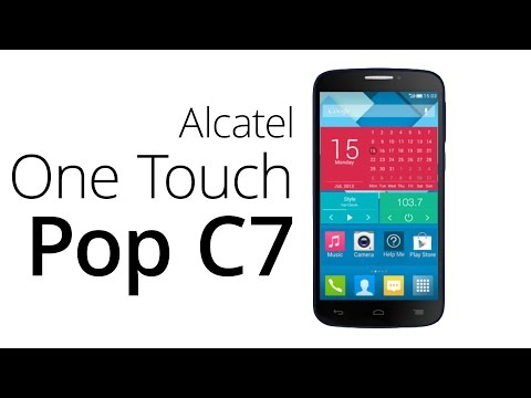 REVIEW - ALCATEL C7 1GB RAM MEDIATEK 85€