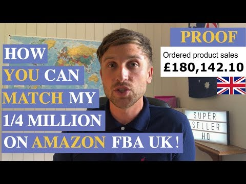 FULL TRANSPARENCY - How YOU Can Match These Results By Selling Amazon FBA UK 2018